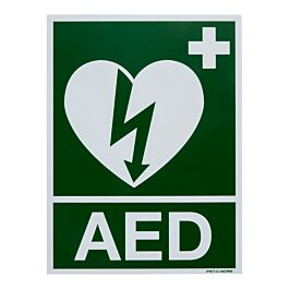 Sticker AED (150 x 200 mm)